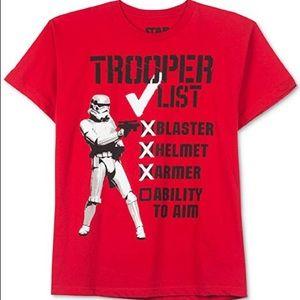 Star Wars Stormtrooper's List Graphic T-Shirt Tee